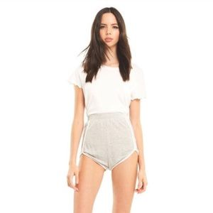NEW! Wildfox | Slinky Terry Lane High-Rise Shorts